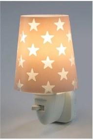 DALBER STARS 81215S růžová Noční LED lampa do zásuvky