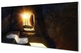 Nástenný panel Cave krížia slnko 125x50cm