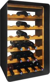 Stojan na víno Archibald čierny