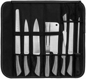 9 dielna sada nožov s puzdrom navyše