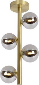 TYCHO - Flush ceiling light - G9 - Satin Brass