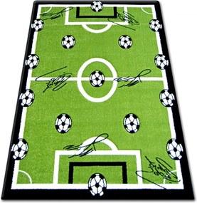 Detský kusový koberec Futbalové ihrisko zelený 2, Velikosti 160x220cm