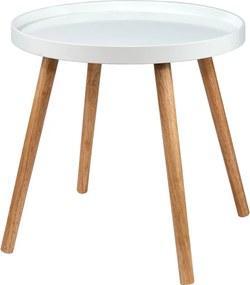 Butlers SWING TIME Príručný stolík - biela