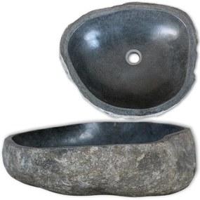 Umývadlo, riečny kameň, oválne 46-52 cm