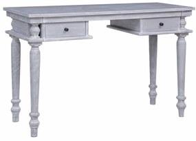vidaXL Stôl 120x50x78 cm masívne mahagónové drevo