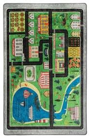 Detský koberec Traffic, 140 × 190 cm