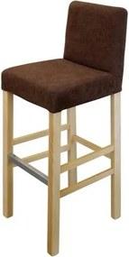 OVN barová stolička IDN 3063 buk / hnedá