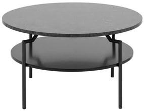Goldington konferenčný stolík čierna/čierna
