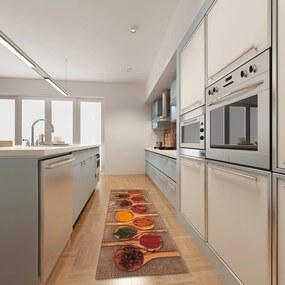 Vysokoodolný kuchynský koberec Webtappeti Spices, 60 x 150 cm