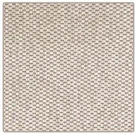 Vopi koberce AKCE: 60x60 cm Kusový koberec Nature světle béžový čtverec - 60x60 cm