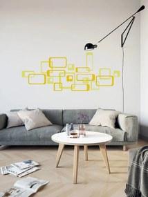 GLIX Čtverce - samolepka na zeď