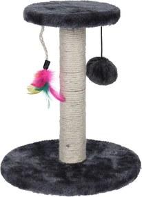 Koopman Škrabadlo Cat Tree sivá, 30 cm