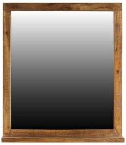 Sconto Zrkadlo s poličkou GURU FOREST akácia