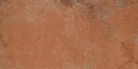Dlažba RAKO Siena vo farbe červeno hnedá 22,5x45 cm mat DARPT665.1