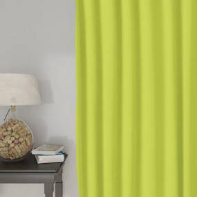 Goldea dekoračný záves loneta - zelený 140x140 cm