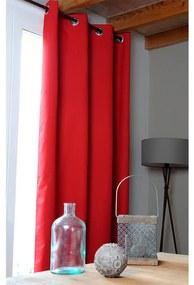 Zatemňovací záves OSLO červený 140 x 260 cm 2 ks