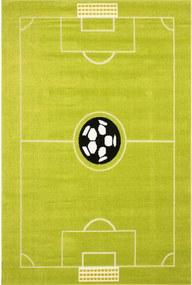 Detský kusový koberec Na ihrisku zelený, Velikosti 120x170cm