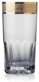 Bohemia Crystal ručne brúsené poháre na vodu a nealko nápoje Romantic