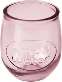 Ružový pohár Esschert Design Water, 0,4 l