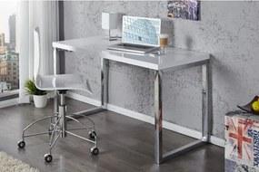 PC - stolík 20999 120x60cm Biely vysoký lesk-Komfort-nábytok