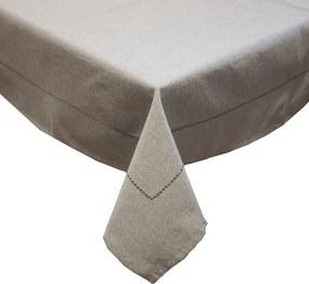 Home Elements Obrus z recyklovanej bavlny, 90 x 90 cm, šedá