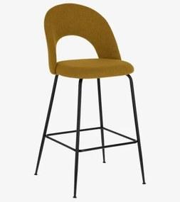 MAHALIA 65 barová stolička Žltá