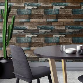 GFT 3D tapeta - farebné drevo