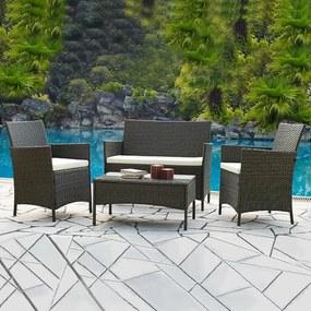Set zahrad.nábytku 7-dielny ratanový Avenberg GRANDE