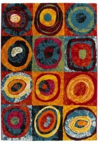 Kusový koberec Esprit 307 rainbow - Lalee koberce - 80x150 - Lalee koberce