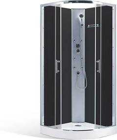 Roltechnik Hydromasážny sprchový box LEONNIE /900 90 cm 90 cm