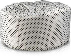 Ecopuf Sedací vak ECOPUF - MINI ISLAND polyester design SX1