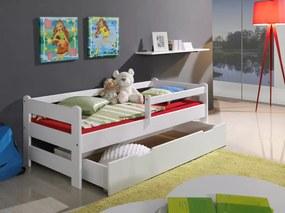 Detská posteľ Ourbaby Guardy Boulder White biela 180x80 cm