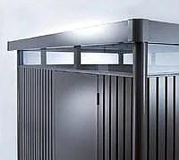 Záhradný domček BIOHORT HighLine DUO H5 275 x 315 (tmavo sivá metalíza)