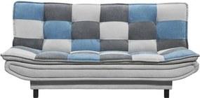 Sconto Pohovka PATCH patchwork modrá