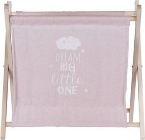 Koopman Úložný košík Child´s dream ružová, 32 x 30 cm