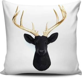 Vankúš s výplňou Christmas Deer 6, 45 × 45 cm