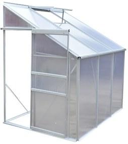 Hliníkový skleník s 3 sekciami