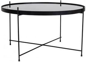 Konferenční stolek VENEZIA HOUSE NORDIC ø70 cm,černý House Nordic 2101200