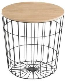 Odkladací stolík Actona Lotus Darko, ø 39 cm
