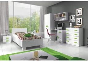 TEMPO KONDELA Svend detská izba biela / zelená