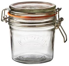 KILNER Okrúhly zaváračkový pohár s klipsom 350 ml