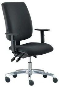 Kancelárska stolička Yoki Lux, čierna