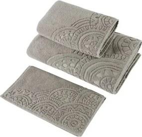 Soft Cotton Malý uterák CIRCLE 32 x 50 cm Béžová