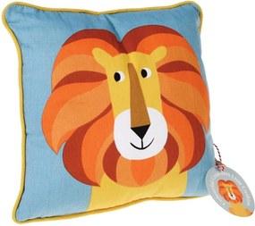 Vankúš Rex London Charlie The Lion, 30 x 30 cm