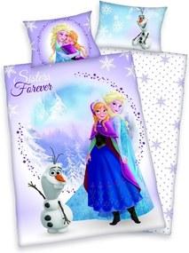 Herding obliečky pre bábätká Frozen Ľadové kráľovstvo 135x100,40x60