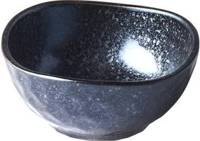 Čierna keramická mištička Mij Matt, ø 9 cm