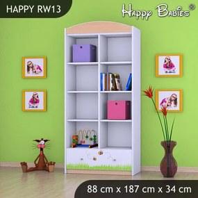 Regál Happy Hruška RW13