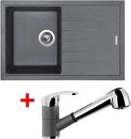 Akčný set Sinks drez BEST 780 + batéria LEGENDA S Titanium