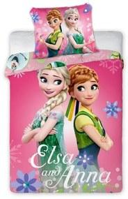 Faro Detské obliečky Anna a Elsa 135x100 cm