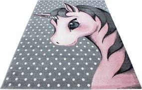 Ayyildiz koberce Kusový koberec Kids 590 pink - 120x170 cm
